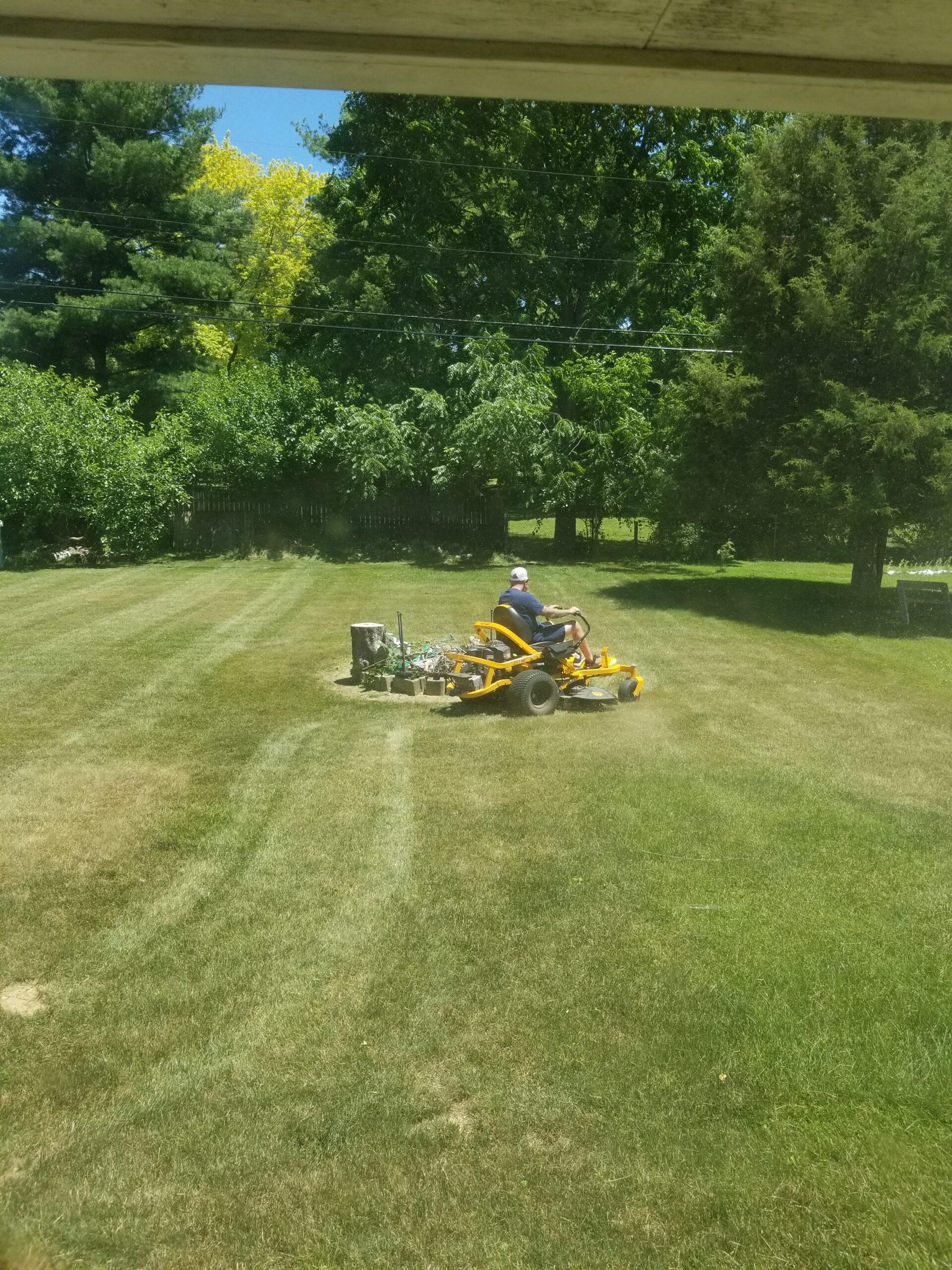 Backyard & Firepit